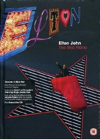 Cover Elton John - The Red Piano [DVD]